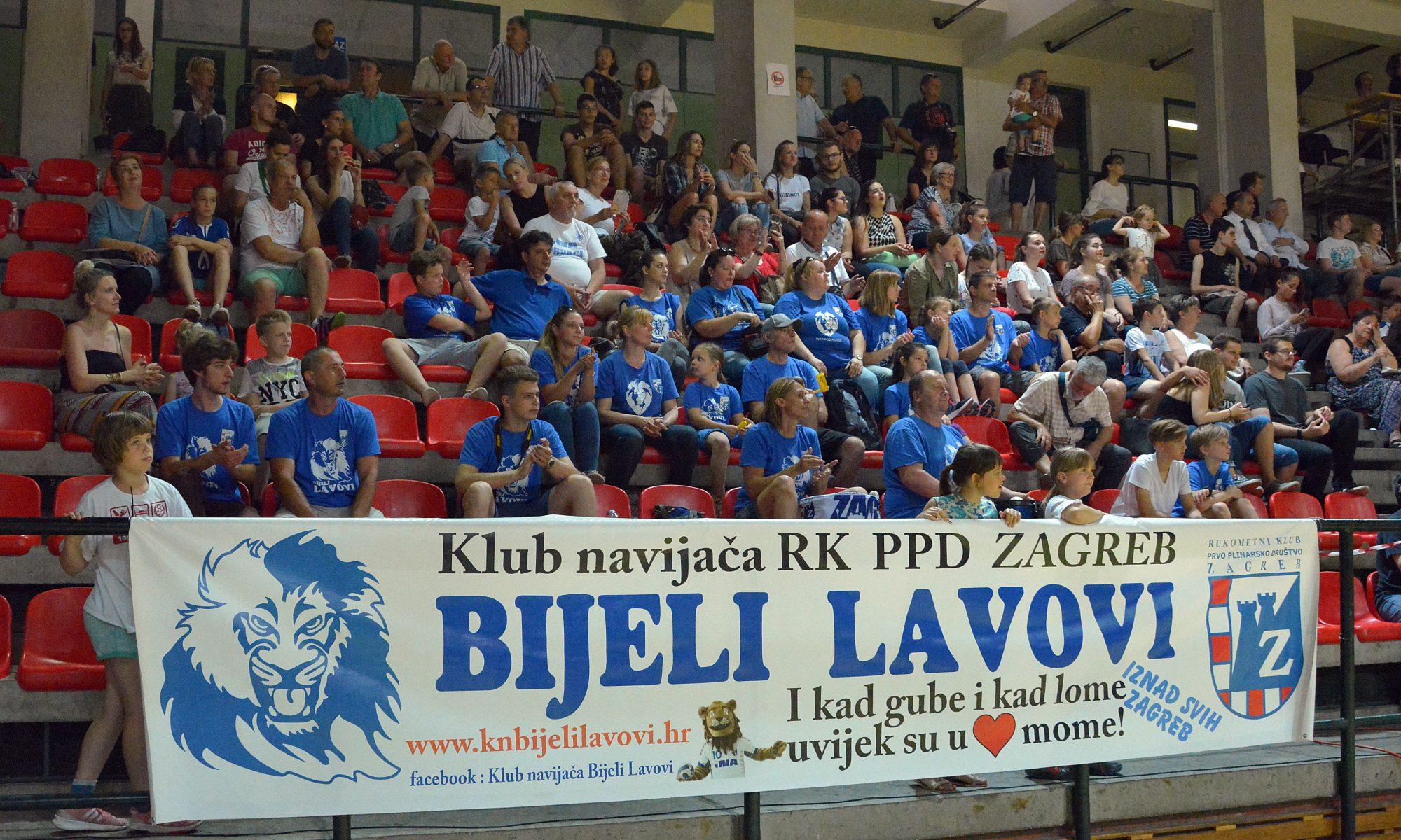 Službena stranica Kluba navijača Bijeli lavovi
